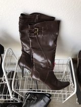 CL Laundry Brown Boots in Fort Leonard Wood, Missouri