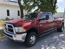2012 DODGE RAM 3500 DUALLY DIESEL 4X4... 69,875 MILES in Fort Leonard Wood, Missouri