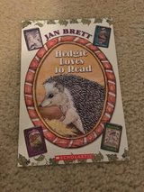 Hedgie Loves to Read book in Camp Lejeune, North Carolina