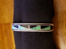REDUCED Turquoise Onyx cuff bracelet in 29 Palms, California