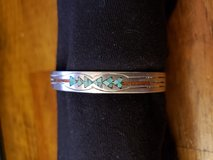 REDUCED Turquoise & coral cuff bracelet in 29 Palms, California