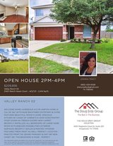 Open House Sunday 2-4pm in Kingwood, Texas