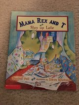 Mama Rex and T Stay up Late book in Camp Lejeune, North Carolina