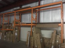 32 feet of Industrial Rack Shelving in Aurora, Illinois