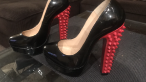 Louis Vuitton red bottoms in Travis AFB, California