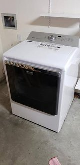 Maytag 8.8 cu. ft. 120 Volt White Gas Vented Dryer with Advanced Moisture Sensing in 29 Palms, California