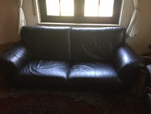 Italian leather Sofa and Love seat in Ramstein, Germany