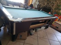 Pool table in Yucca Valley, California