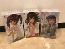 Idol Master Figures and LiveLove Figure in Okinawa, Japan
