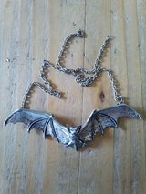 Alchemy Gothic bat necklace in Lakenheath, UK
