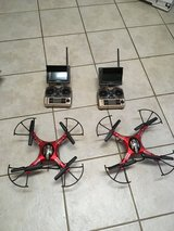 2 nice drones like new in Perry, Georgia