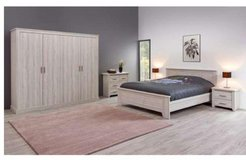 "US Full Size Bed Set Lee complete with Mattress ""Optimum"" and Delivery - without Wardrobe $910 in Stuttgart, GE"