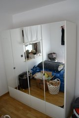 Wardrobe Closet Shrank in White with Mirrors in Stuttgart, GE