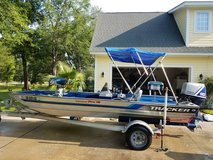 Tracker boat, motor and trailer in Beaufort, South Carolina