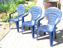 3 patio chairs in Ramstein, Germany