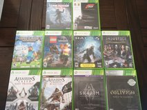 Xbox 360+10 games in Ramstein, Germany