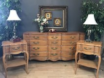 French Provincial Dresser & nightstands pick your color in Fort Leonard Wood, Missouri