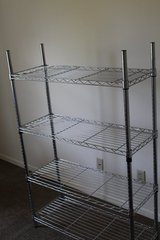 four tier metal shelf in Watertown, New York