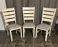 Solid Oak Dining Chairs in Cary, North Carolina