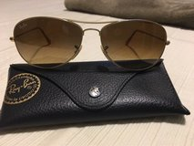 RayBan pilot polarized sunglasses, like new in Savannah, Georgia