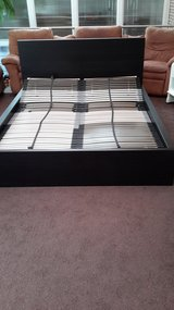 Ikea Queen Bed with Mattress and Box Spring in West Orange, New Jersey