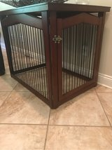 2 in 1 - Wooden Dog Crate - GUC! in Leesville, Louisiana