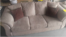 Ashley Microfiber Couch & Sofa in Fort Bliss, Texas