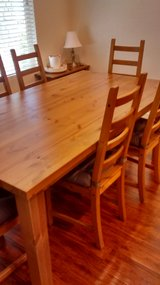 Large Table and chairs in Roseville, California