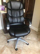 Real Leather Office Chair in Leesville, Louisiana