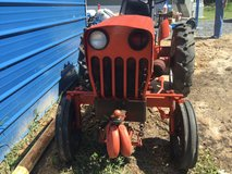 Power King tractor. Runs great, and perfect for gardening or dirt leveling. in Leesville, Louisiana