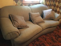 Matching couch and loveseat in Fort Riley, Kansas