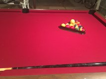 Slate Pool Table Excellent Condition! in Batavia, Illinois