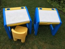 Vintage Little Tikes School Table Desks - 2 Available in Aurora, Illinois