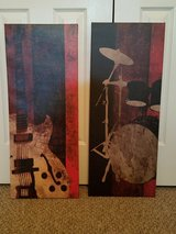 Two musical instruments prints in Spring, Texas