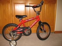 "16"" Boys Bike w/ training wheels in Oswego, Illinois"