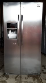 Frigidaire Gallery Stainless Steel Finger Print Resistant Refrigerator (Purchased at sears 2/2018) in Shreveport, Louisiana