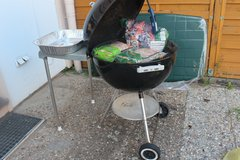 Large 24 inch Weber gril with table in Ramstein, Germany