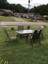 Patio set in Fort Benning, Georgia