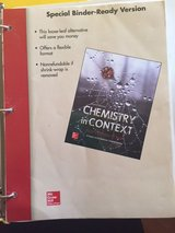 Chemistry in Context - 8th Edition in New Lenox, Illinois