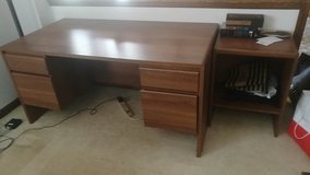 office desk and side table in Naperville, Illinois