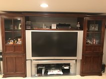 Entertainment center and rear projection TV in Batavia, Illinois