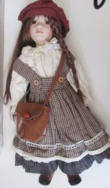 "Doll Vintage 20"" Porcelain Doll from the Princess Collection in Fort Campbell, Kentucky"