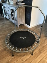 """40"""" trampoline with bar in Houston, Texas"""