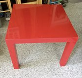 Red Side Table in Batavia, Illinois