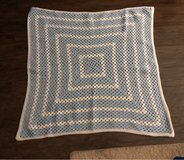 Boy Baby Blanket.  Crocheted New in Warner Robins, Georgia