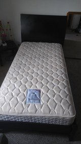 TWIN BEDS W/SEALY POSTUREPEDIC MATTRESS in Naperville, Illinois