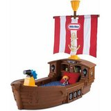 Pirate kid bed (crib size mattress) in Beale AFB, California