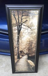 Framed Fall picture in Lockport, Illinois