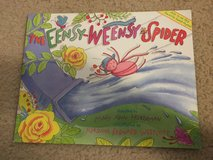NEW The Eensy-Weensy Spider book in Camp Lejeune, North Carolina