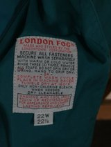 Teal Jacket  by London Fog,  Size 22W in Chicago, Illinois